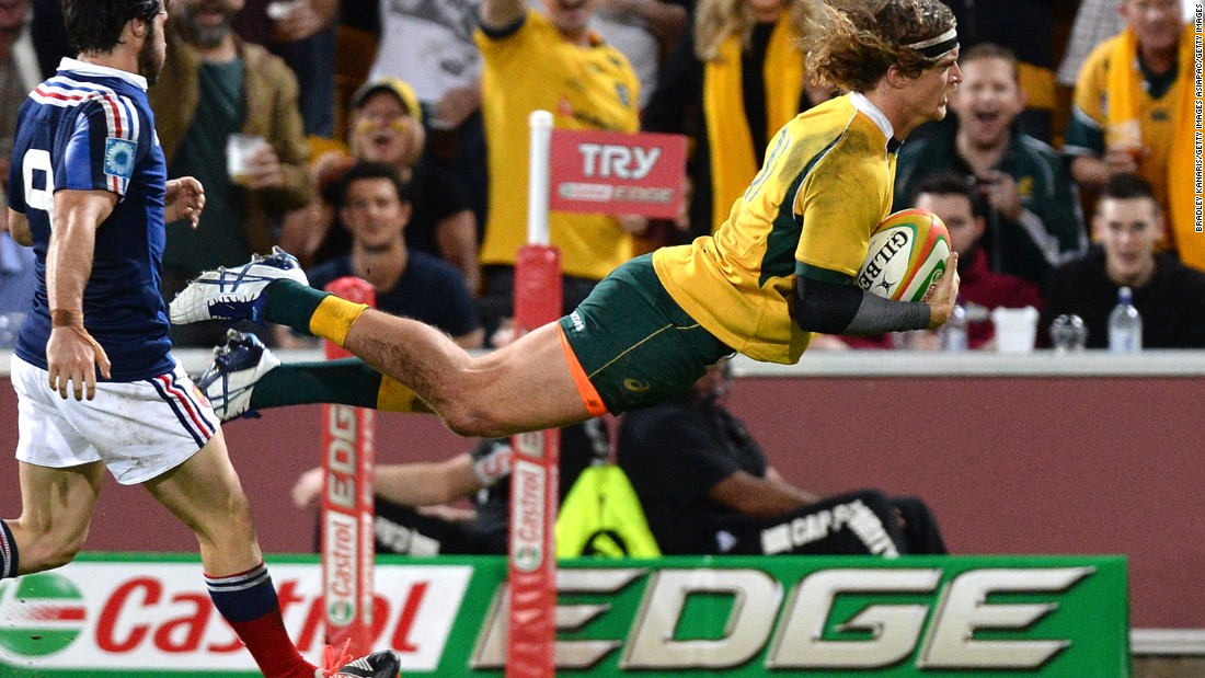 He gave up a chance to play for Australia at the 2015 Rugby World Cup as a result of that move to Japan.