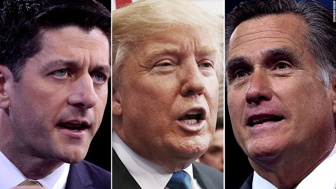Fact Checking Mitt Romney >> Donald Trump's clash with GOP establishment deepens - CNNPolitics.com