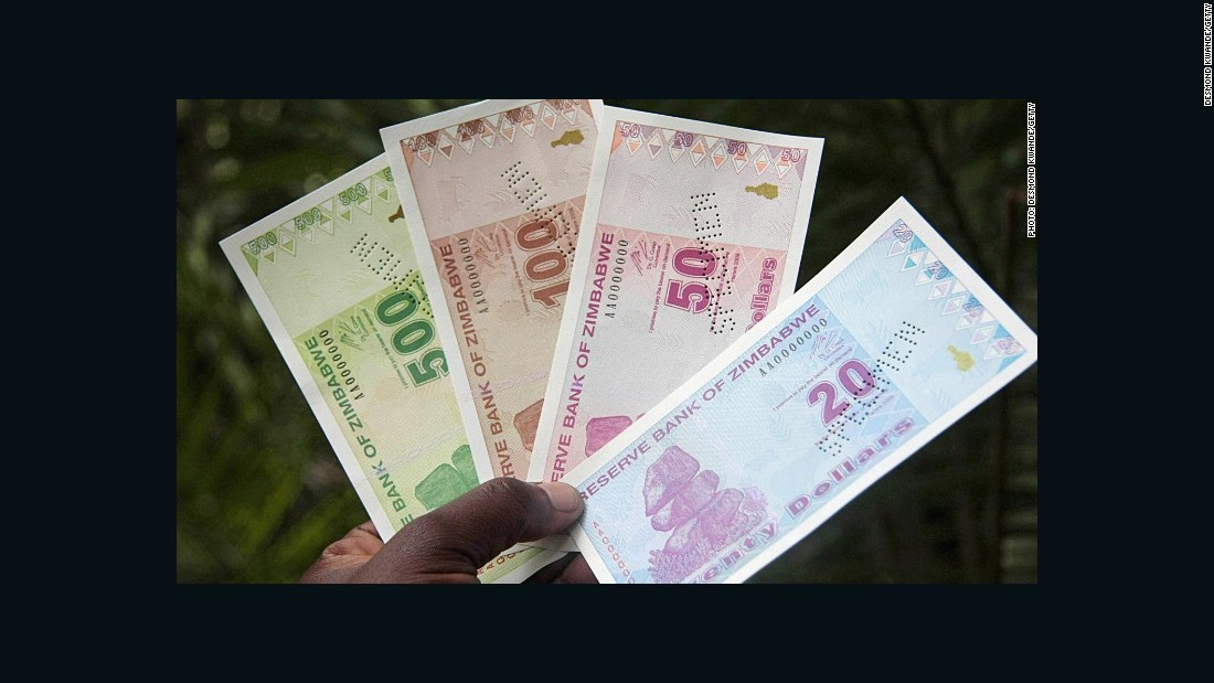 Zimbabwe has been accepting nine international currencies, and the Zimbabwean Reserve Bank is one of the only central banks in the world unable to print its own money after years of devaluation. <br />