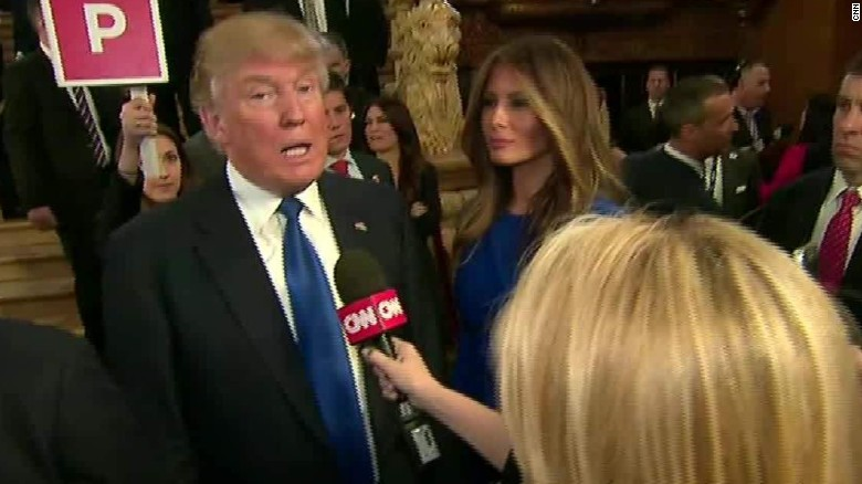Donald Trump's entire Michigan debate interview