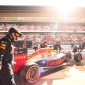 Daniel Ricciardo of Australia and Red Bull Racing: f1 testing barcelona