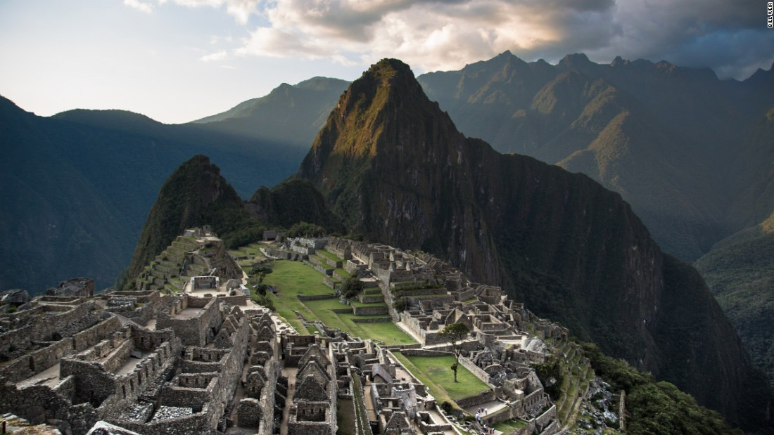 That's about 3,000 visitors each day. Archaeologists worry about the impact of tourism on the ruins. Long before Columbus set sail, the Inca built an empire with a reach as big as two Californias.