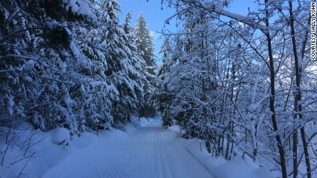 This winter wonderland is one of the incentives for skate skiing in Washington.