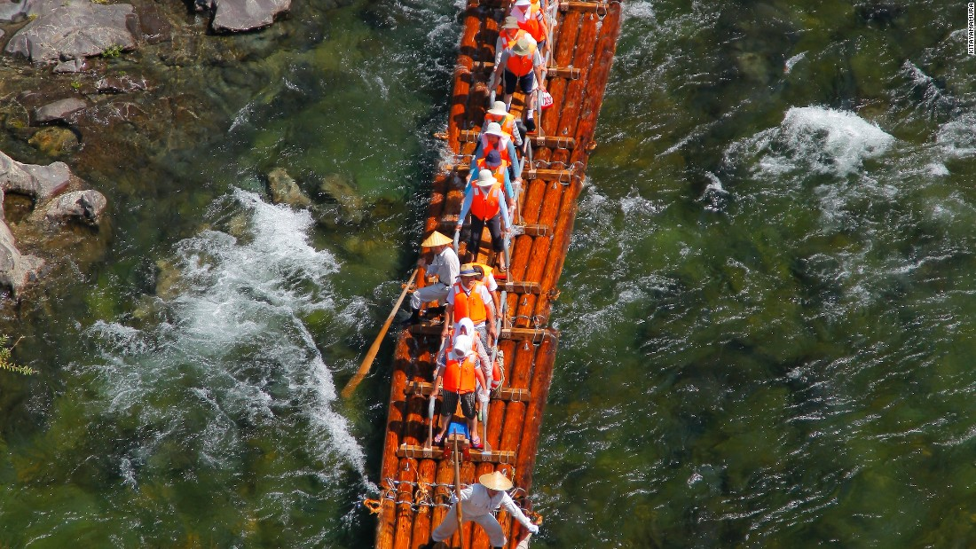 The rafting season lasts from May to September, with reservations accepted from April 1.
