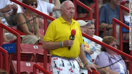Bud Collins covered tennis for the Boston Globe and NBC for more than three decades.