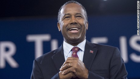 Republican Presidential hopeful Ben Carson.