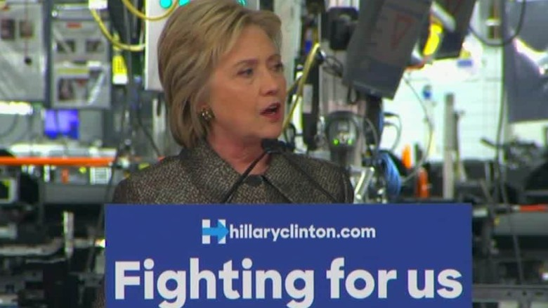 Hillary Clinton lays out plan to help American workers