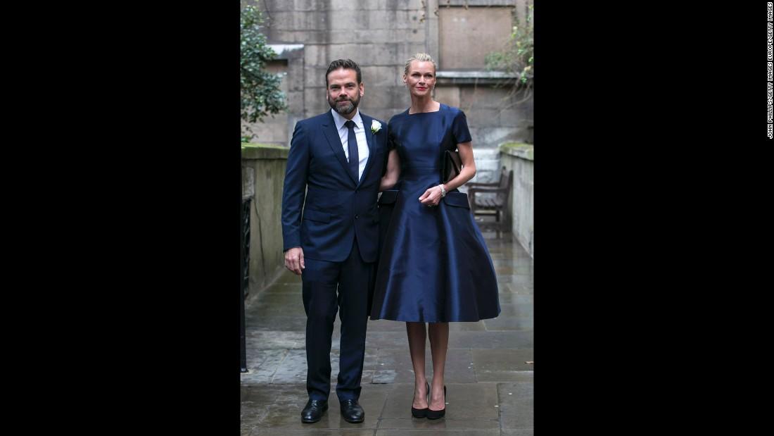 Lachlan Murdoch and Sarah Murdoch.
