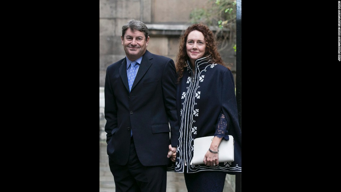 Charlie Brooks and Rebekah Brooks.