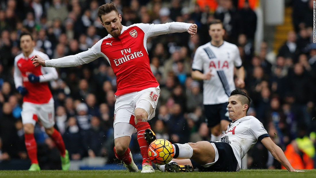 With both teams vying for the EPL title, Tottenham Hotspur and Arsenal faced-off in one of the most crucial north London derbies in years at White Hart Lane Saturday.