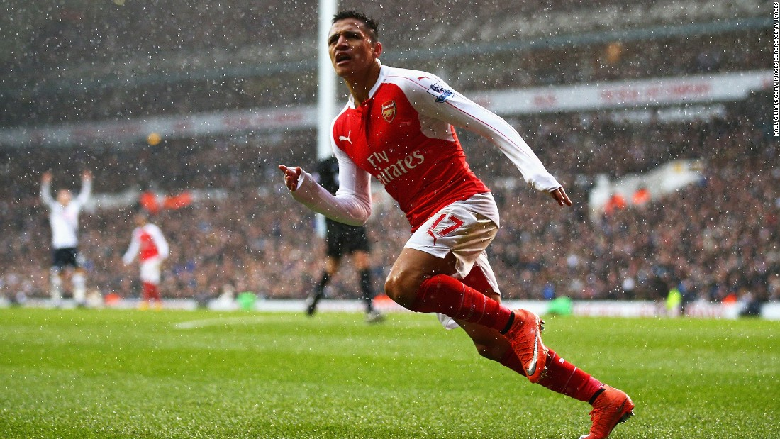 But Arsenal's Chilean forward, Alexis Sanchez rescued a point for the Gunners by drawing the sides level once more.