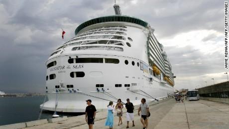 David Mossman, 46, was on Royal Caribbean's Navigator of the Seas.