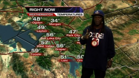 Flavor Flav weather Salt Lake City_00001410