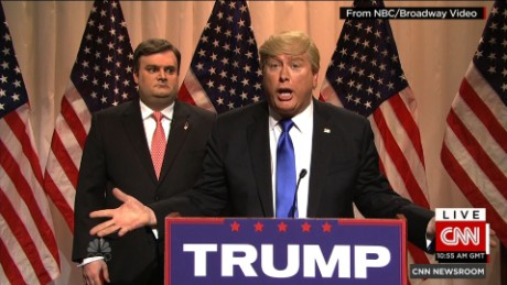 SNL Donald Trump Hillary Clinton _00000000