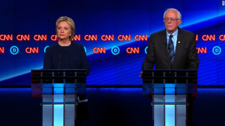 Clinton, Sanders rip Michigan over Flint water crisis