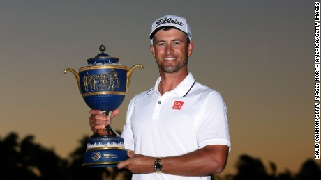 Adam Scott: Golfer makes $2.7m after two tournament wins