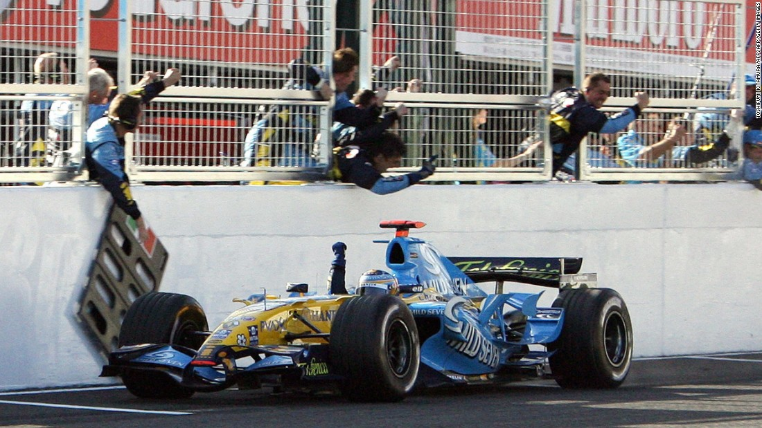 Renault has a strong pedigree, with Spanish driver Fernando Alonso winning back-to-back world championships in 2005 and 2006.