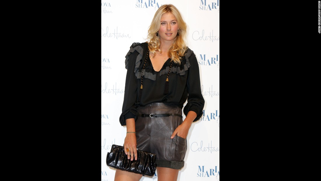 Off the court, Sharapova has become a fashion icon and a popular spokeswoman for many major companies. Her endorsements have included Nike, Gatorade, Canon and Cole Haan.