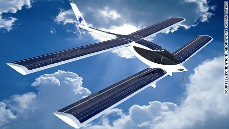 Greener skies: Frenchman prepares for history-making zero-carbon Atlantic flight