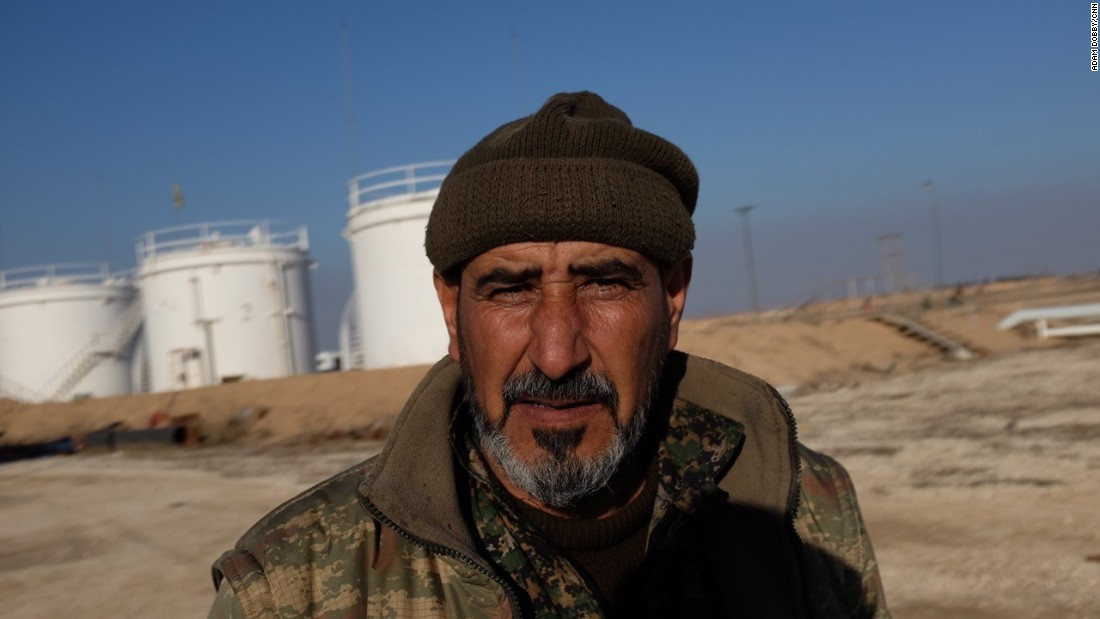 Mohaamed, a Kurdish fighter overseeing a small refinery near al Hawl, says it's too dangerous to bring in the expertise needed to repair the damage created by ISIS.
