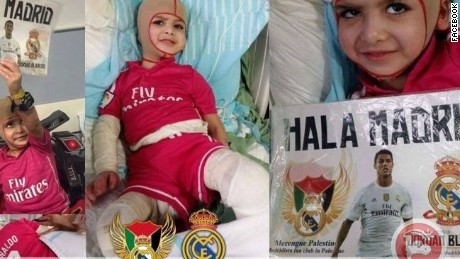 Palestinian boy to meet his Real Madrid heroes
