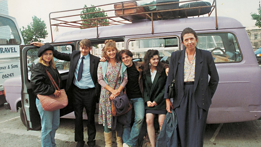 "<strong>""The Lilac Bus"" :</strong> Based on the novel by Maeve Binchy, this Irish drama tells the story of seven people from the village of Rathdoon who travel every weekend to Dublin and of the driver of the lilac colored bus that brings them there. <strong>(Acorn TV) </strong>"