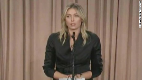 "CNN Sports Analyst: Sharapova's announcement a ""smart move"""