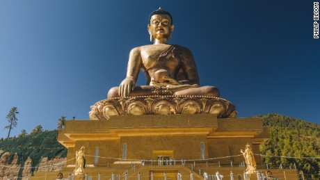 Inspired by a 1,200 year old Bhutanese prophecy, the recently completed Thimphu Buddha is one of the largest sitting Buddhas in the world.