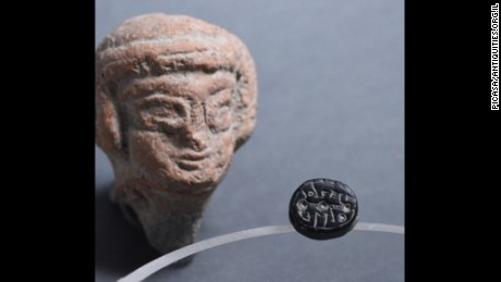 The Israel Antiquities Authority says finding ancient seals belonging to women is very rare.
