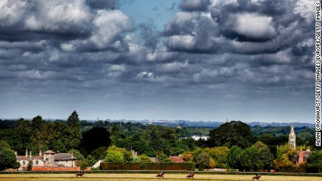 Newmarket Heath is the epicenter of flat racing in England.