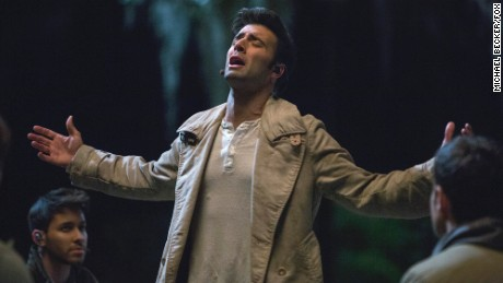 "Jencarlos Canela as Jesus in ""The Passion,"" a two-hour musical event airing live from New Orleans, Palm Sunday, March 20, 2016 on Fox."