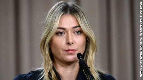 Sponsors suspend deals with Sharapova
