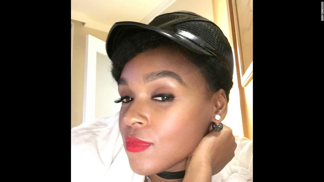 "Singer Janelle Monae posted this selfie <a href=""https://www.instagram.com/p/BCghP7AH_pJ/?taken-by=janellemonae&hl=en"" target=""_blank"">to her Instagram account</a> on Thursday, March 3."