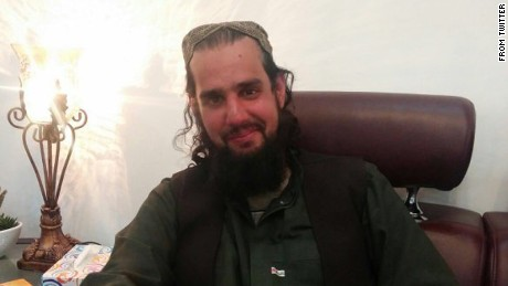 Photo of Shahbaz Taseer in Quetta Pakistan.