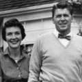 02 Ronald and Nancy Reagan at home RESTRICTED