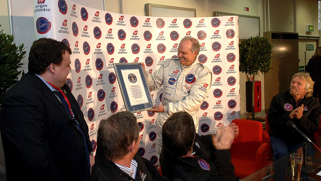 Among American Steve Fossett's multiple world records are five nonstop circumnavigations of Earth -- as a balloonist, sailor and pilot. In 2005, it took him just 67 hours and one minute to fly around the globe nonstop in the Virgin Atlantic GlobalFlyer aircraft, starting and finishing at Salina, Kansas.