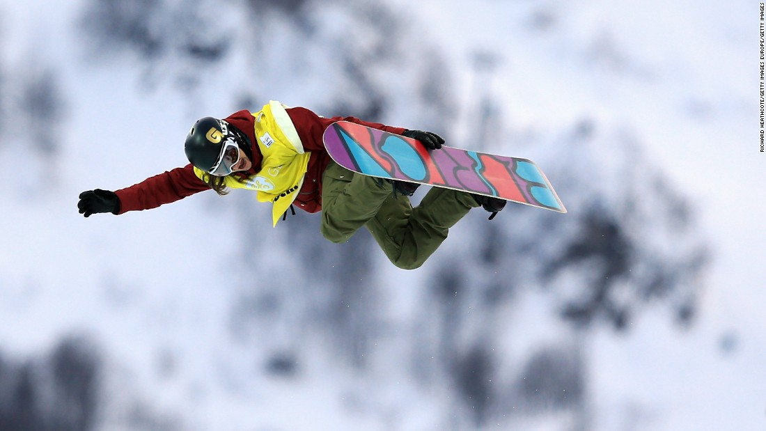 "Kelly Clark -- the most decorated snowboarder in the history of the women's halfpipe competition -- says snowboarding is ""a calculated risk."" ""What would be scary or very risky for other people, isn't necessarily in our shoes,"" she says."