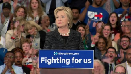 Hillary Clinton speech to supporters sot_00014514