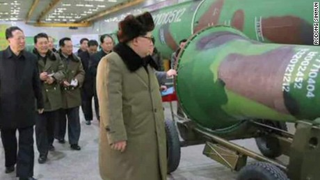 N. Korea claims to have miniaturized nuclear warheads