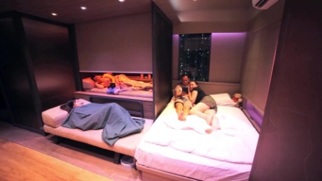 Dream home crammed into 309-sqft transformer apartment