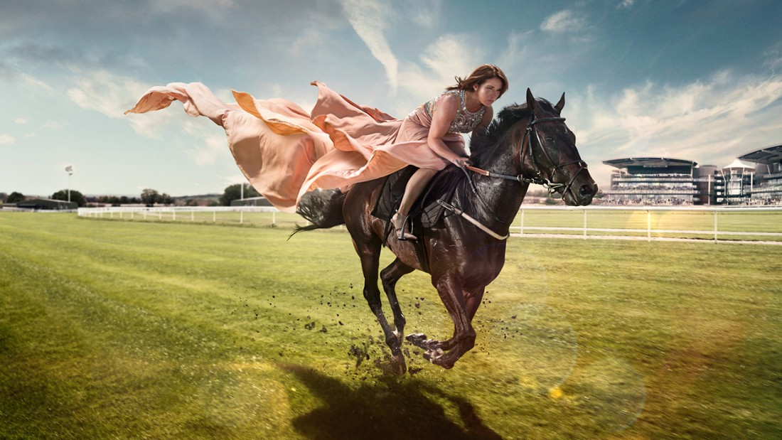 """Jockey Katie Walsh is targeting victory in the Grand National at Aintree, Liverpool. Walsh, who finished third in the 2012 race, says: """"I like to be feminine in a male-dominated sport, and I love the fashion side of it."""""""