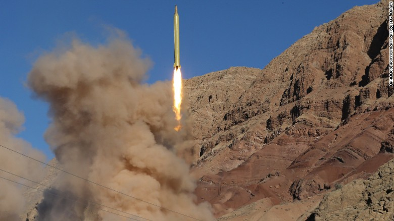 Iran tests-fires ballistic missiles for second day