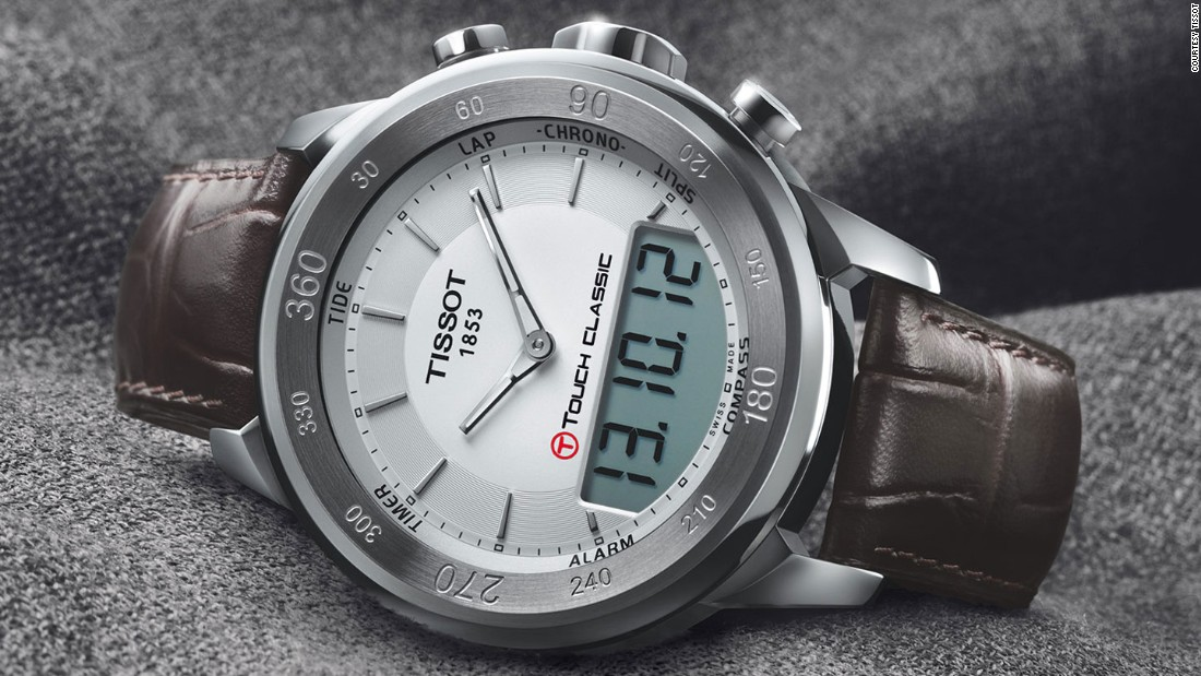 Think smart watches are new? Tissot introduced the first watch with a touch sensitive dial in 1999.