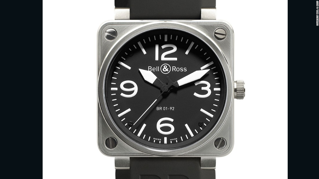 Large, square and an homage to cockpit instrumentation, with the BR01, young company Bell & Ross struck gold in 2005 with a counter-intuitive watch that became widely copied.
