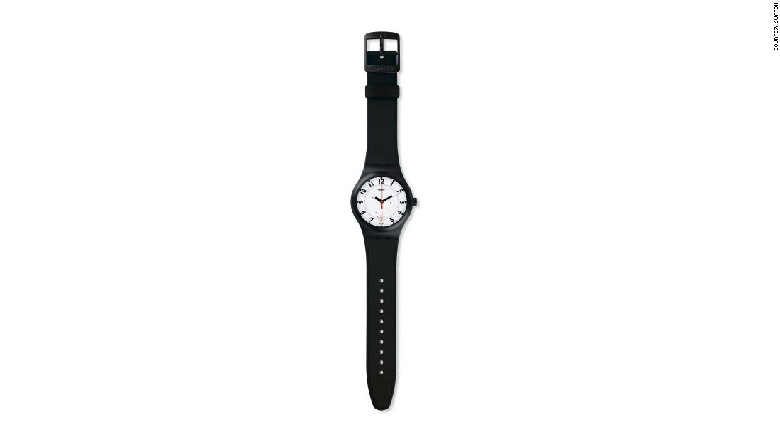 The most basic of all watches - utmost clarity and a simple quartz movement - yet totally ground-breaking. Having originally launched in 1983, Swatch has become more of a culture than a timepiece.