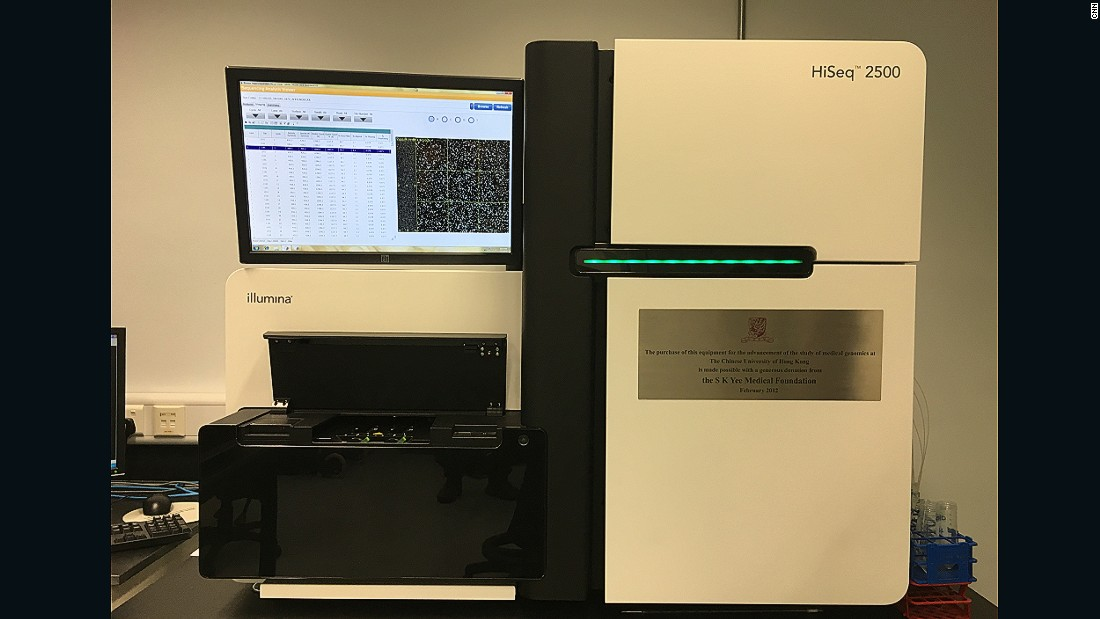 The Use of PCR was once expensive, but the invention of next generation sequencers -- such as this one at the Prince of Wales Hospital, in Hong Kong -- have made prenatal blood tests much faster and more affordable. A spectrum of diseases could now be tested for, including cancer.