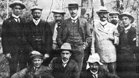 The 1902 founders of the Circumnavigators Club.
