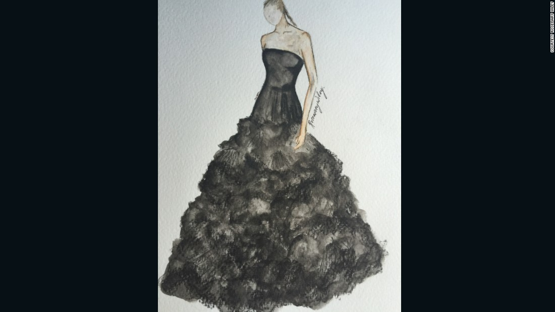 "Siriano by <a href=""https://www.instagram.com/rosemarywiley/"" target=""_blank"">Rosemary Wiley</a>"