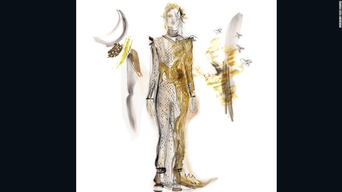 "Alexander McQueen by <a href=""https://www.instagram.com/erinpetson/"" target=""_blank"">Erin Petson</a>"