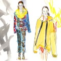 illustrated fashion week marques almeida